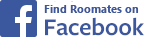 Find Roomates on Facebook Icon